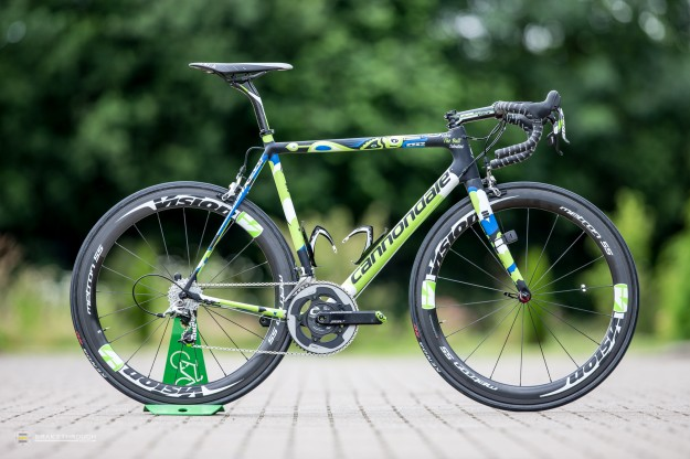 Fabio Sabatini's Custom-painted Cannondale SuperSix Hi-Mod EVO for 2014 Tour de France