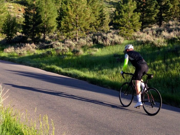Jason Mitchell Climbing to Granite Flats