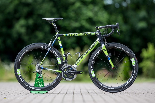 Kristijan Koren's Custom-painted Cannondale SuperSix Hi-Mod EVO for 2014 Tour de France