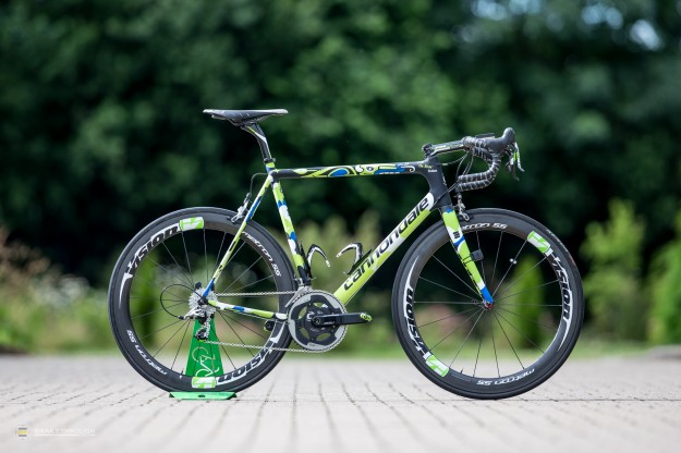 Maciej Bodnar's Custom-painted Cannondale SuperSix Hi-Mod EVO for 2014 Tour de France