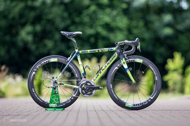 Marco Marcato's Custom-painted Cannondale SuperSix Hi-Mod EVO for 2014 Tour de France