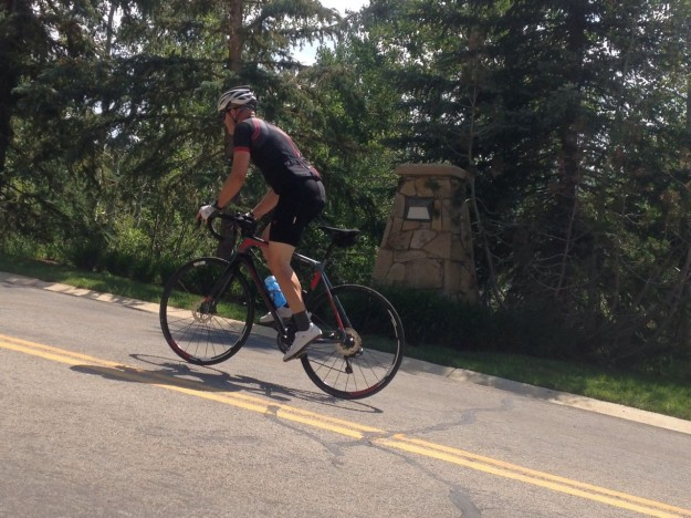 2015 Scott Solace 15 Disc - Climbing in Deer Valley, UT