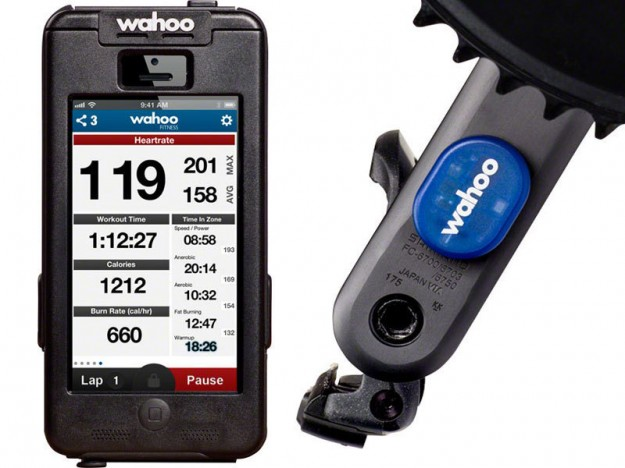 Wahoo Fitness RPM Cadence Sensor and Fitness App