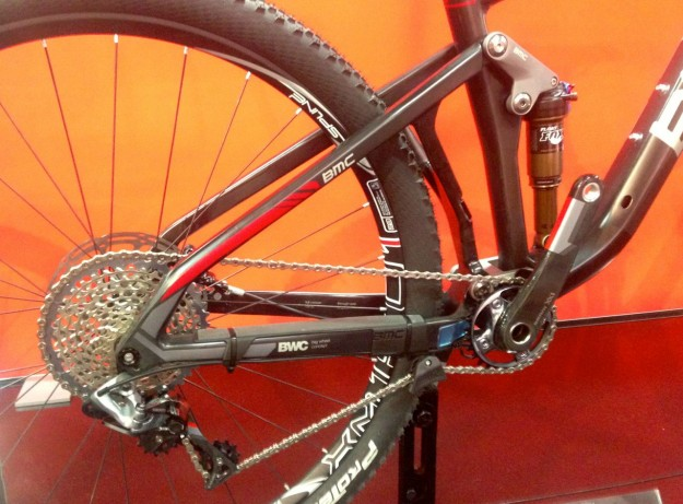 2015 BMC Speedfox SF01 29 XX1 - APS Suspension System