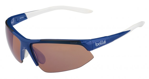 Bollé Breakaway Sunglasses Review - Shiny Blue/White with Rose Blue Lens