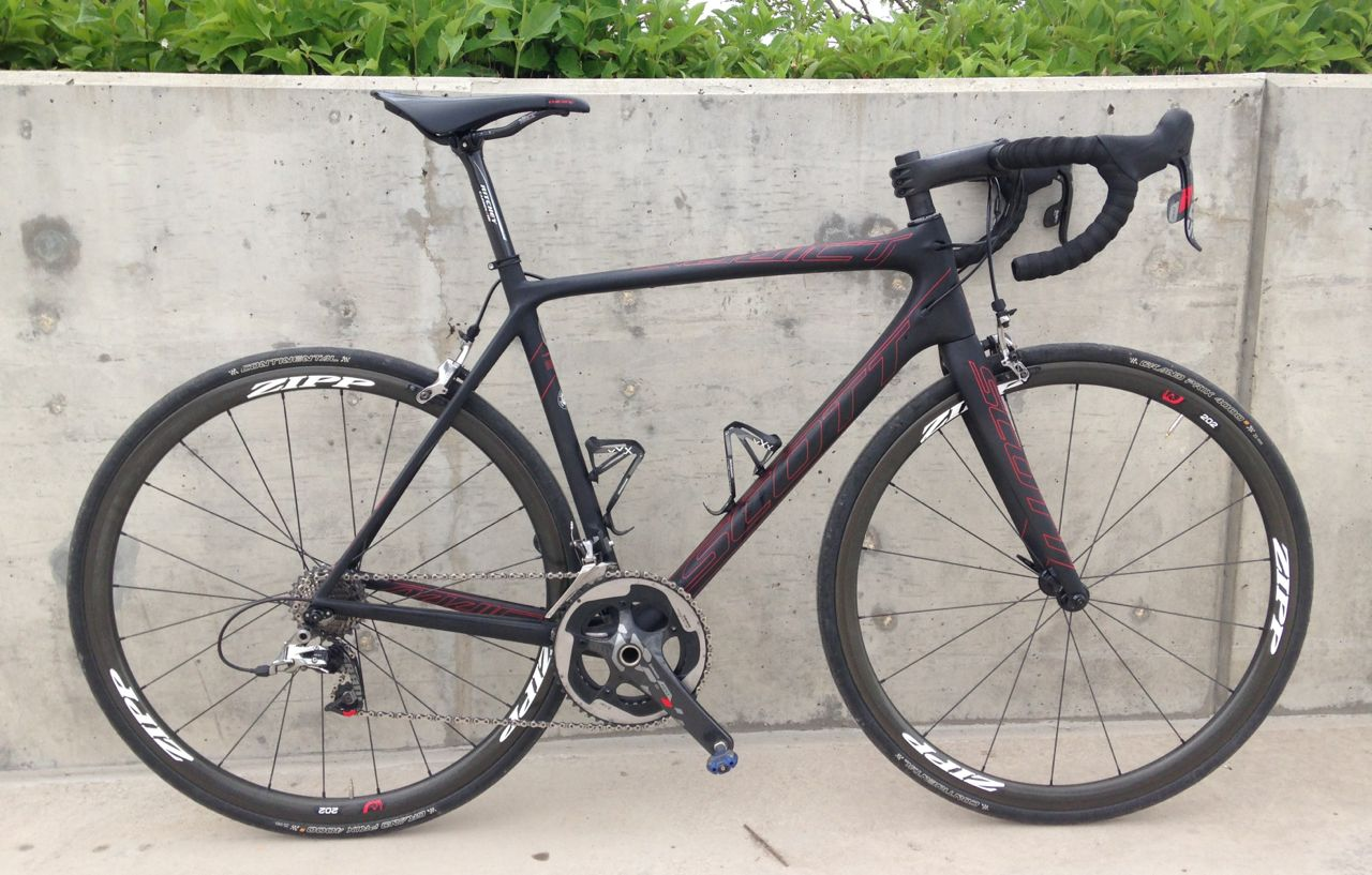 Scott Addict Road Bike user reviews : 5 out of 5 - 5 ...