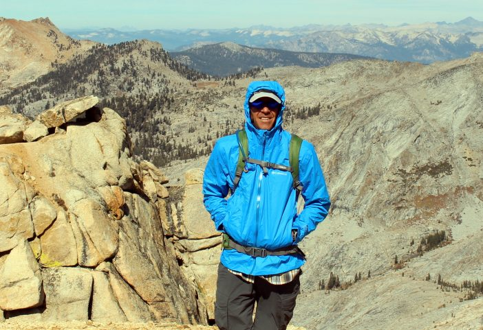 On top of Alta Peak in Sequoia National Park