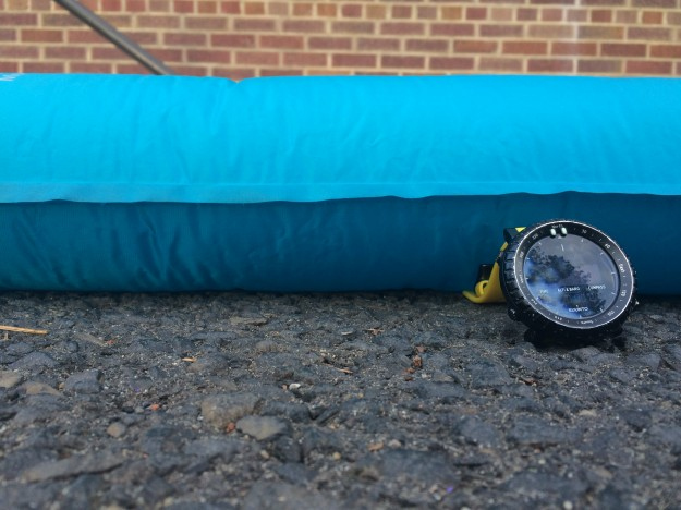 Big Agnes Double Z Pad is Thick