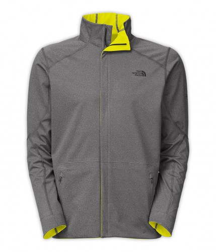 The North Face Illuminated Jacket - Shown in Reverse Grey