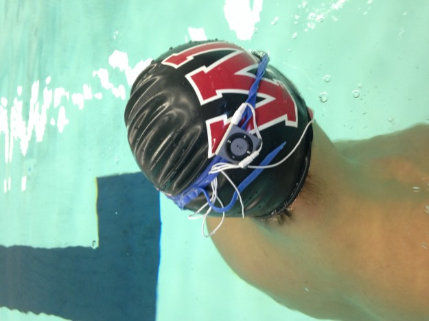 The Nano's design is perfect for swimmers.