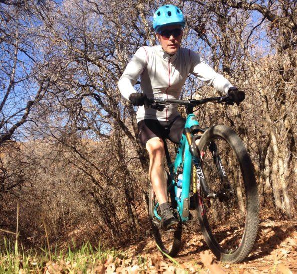 Yeti ASR Carbon in Lambert Park, Utah