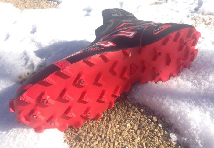 Salomon Snowcross CS Review - Spiked Sole