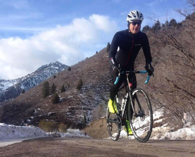 Climbing American Fork Canyon in Jan 2015