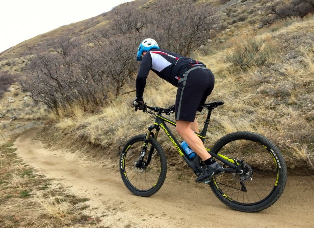 Corner Canyon Singletrack - Feb 2015