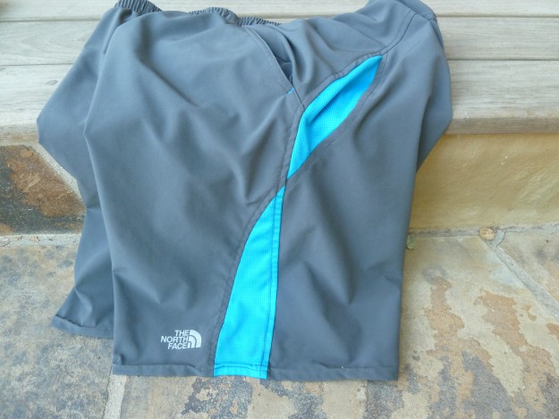 north face agility shorts main panels