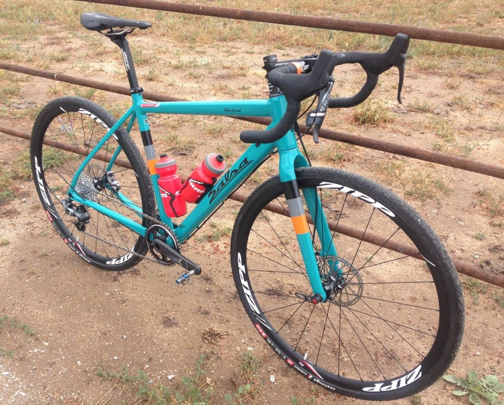 2016 SRAM Force 1 aboard the Salsa Warbird