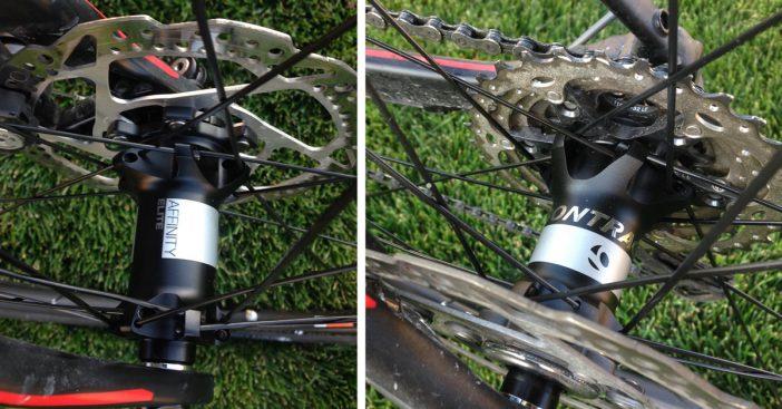Bontrager Affinity Elite Wheelset - Hubs