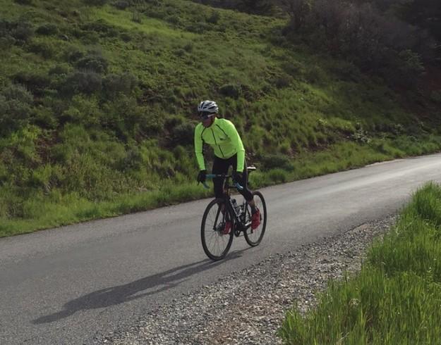 Riding to Granite Flats