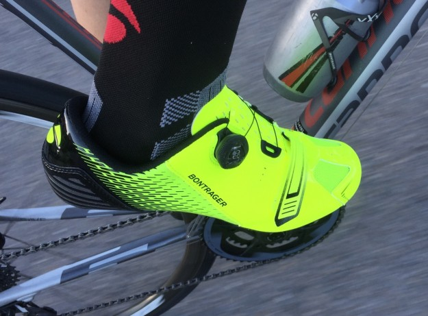 Bontrager Specter Shoe Review - Visibility Yellow