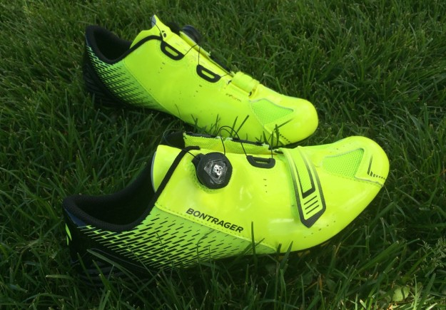 Bontrager Specter Road Shoes Review - Visibility Yellow