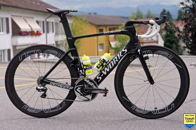 Peter Sagan's S-Works Venge ViAS for The Tour de France 2015