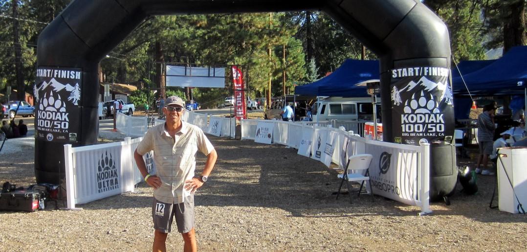 At the Kodiak finish line