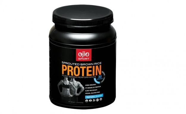 Ojio Organic Brown Rice Protein - Vanilla