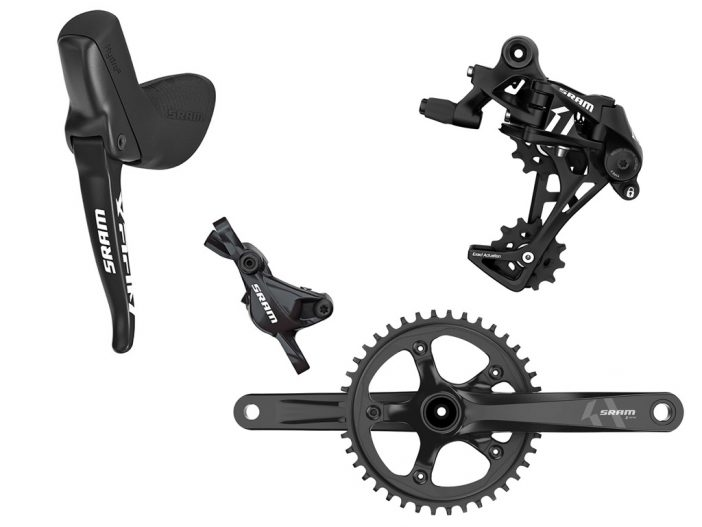 The new SRAM Apex 1 Shift/Brake Levers, Rear Derailleur and Crankset
