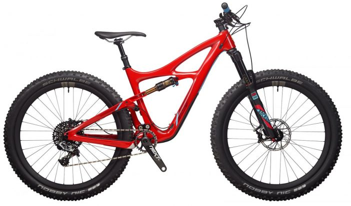 The Ibis Mojo 3 in Corinthian Red.
