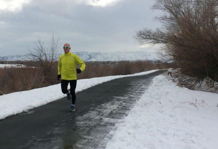 Winter testing on the Jordan River Trail here in Utah.