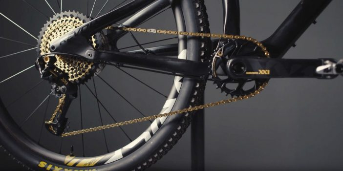 The Eagle has landed -- SRAM XX1 Eagle 12-speed.