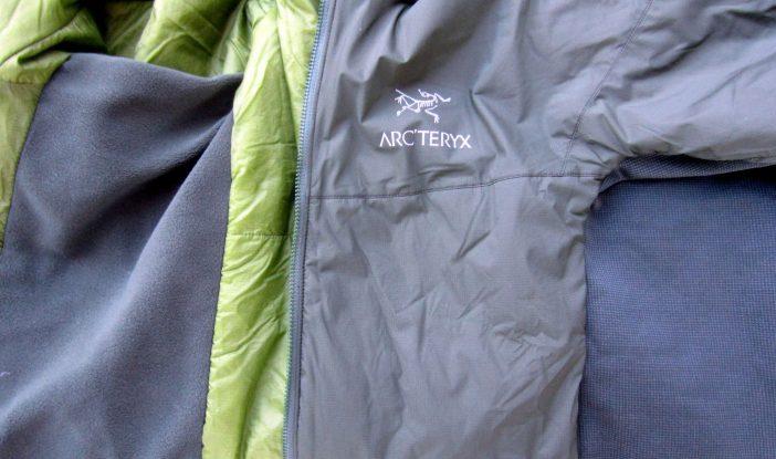 arcteryx atom lt fabrics