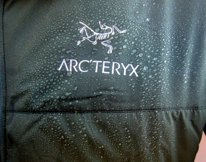 arcteryx atom lt DWR