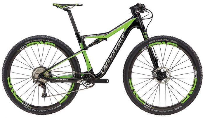 The Cannondale Scalpel-Si Race ($9060 USD).