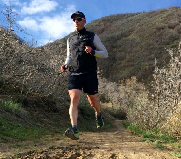 An early morning run -- testing the Olympus 2.0's in Corner Canyon.
