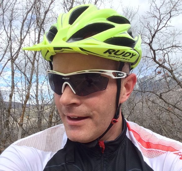 The Windmax is great in MTB mode with the snap-on visor.