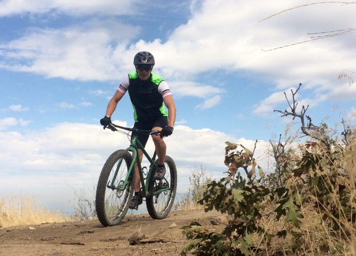 Don't be afraid to get this one dirty -- it's a great MTB/road vest.