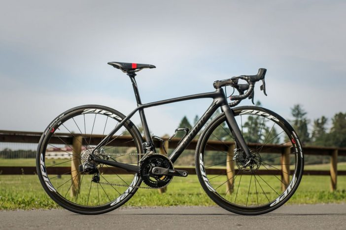 Specialized Tarmac Disc with SRAM Red eTap HydroHC.