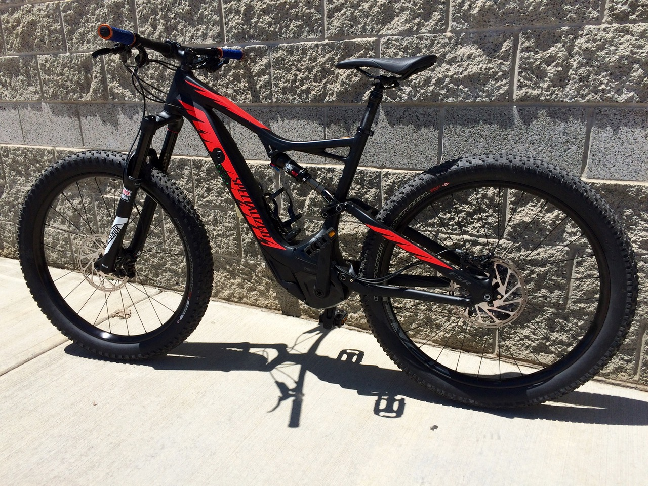 parking lot laps specialized turbo levo fsr comp 6fattie. Black Bedroom Furniture Sets. Home Design Ideas
