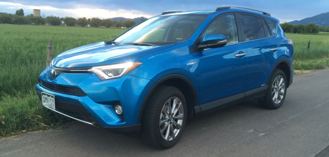2016 toyota rav4 limited hybrid review. Black Bedroom Furniture Sets. Home Design Ideas