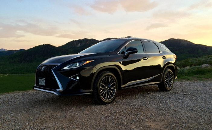 The RX 350 F-Sport on Empire Pass.