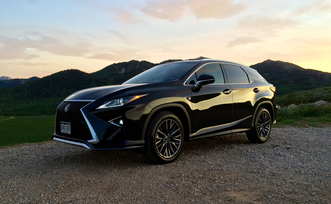 2016 lexus rx 350 f sport brings the fun for a price. Black Bedroom Furniture Sets. Home Design Ideas