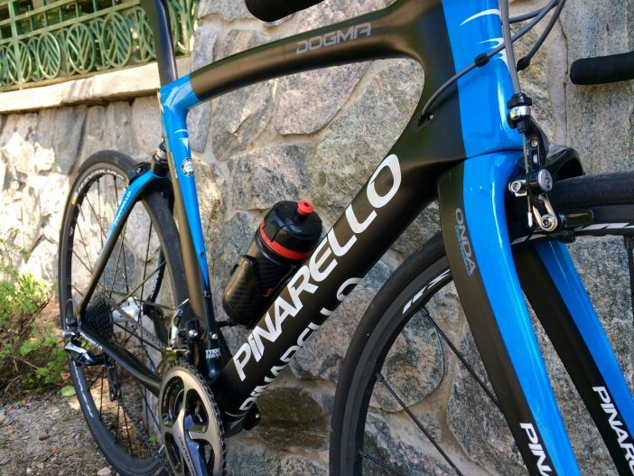 The details on every Pinarello are awesome to look at.