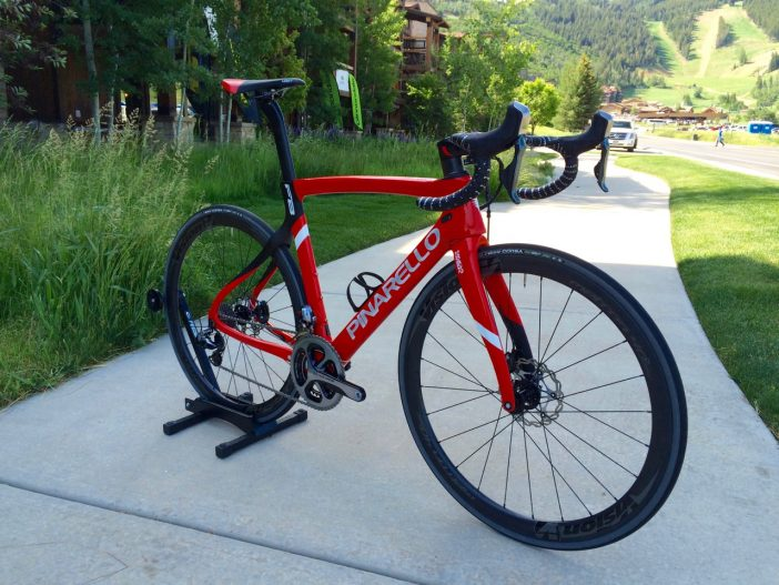 The Dogma F8 Disc gets thru-axles for 2017.
