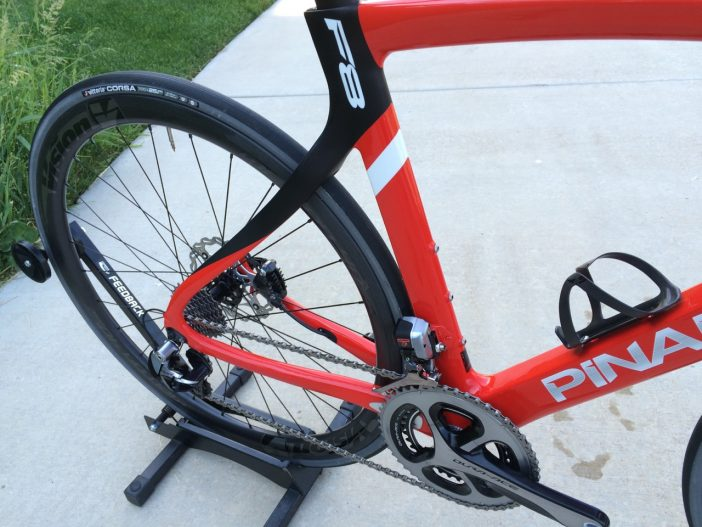 The same aerodynamic shapes and geometry remains for the F8 Disc.