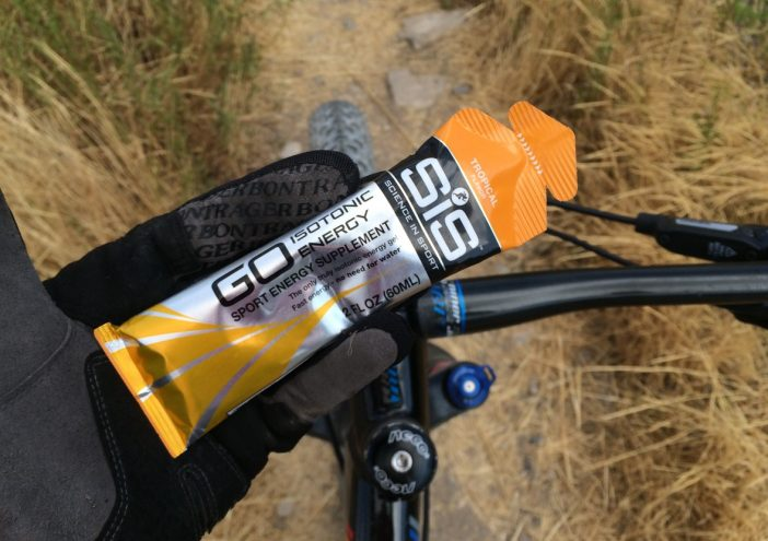 GO Isotonic Energy Gels go down in a jiffy and deliver quick energy.