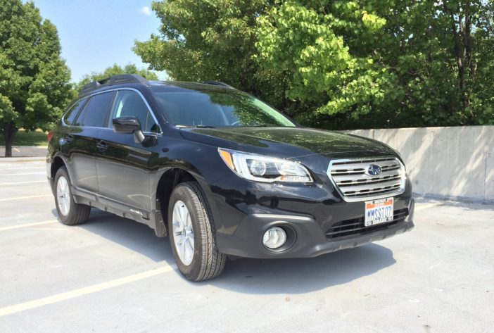 The 2016 Outback continues as a larger, taller vehicle.