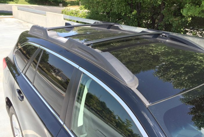 The 2016 roof rack continues with some improvements (but I still hate it).