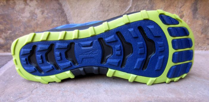 Rugged TrailClaw outsole provides excellent grip