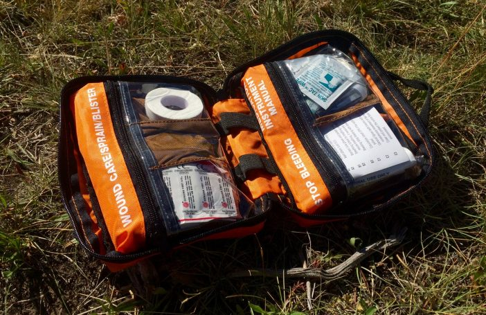 Intuitive pockets and plenty of high-quality first aid items in there.